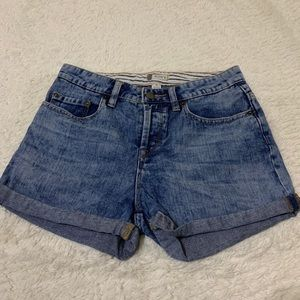 ROXY high waisted denim shorts